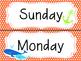 Nautical Themed Complete Calendar Set
