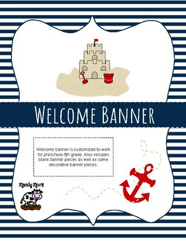 Nautical Themed Decor Bundle