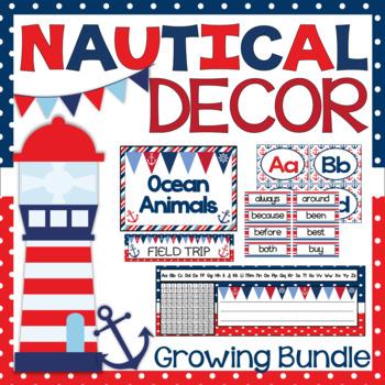 Nautical Themed Decor {Bundle}
