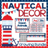 Nautical Themed Decor {Bundle}
