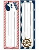 Nautical Themed Desk Name Tags
