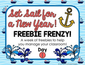 Nautical Themed Hand Signal Posters {FREEBIE FRENZY}