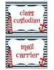 Nautical Themed Job Labels