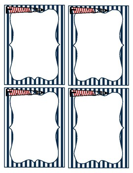 Nautical Themed Labels