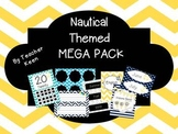Nautical Themed MEGA PACK in Yellow and Navy