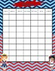 Nautical Themed Monthly Calendar (Editable)