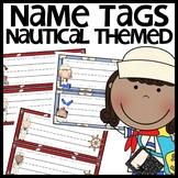 Nautical Themed Name Plates
