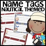 Nautical Themed Name Plates