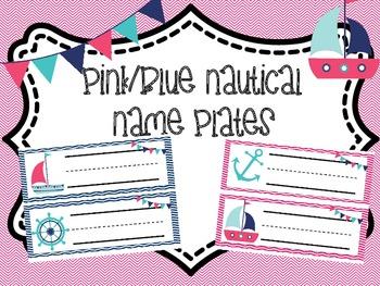 Nautical Themed Nameplate