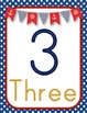 **Nautical Themed** Number Posters {1-20}