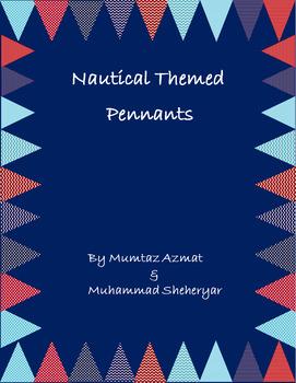 Nautical Themed Pennants