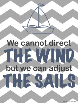 Nautical Themed Posters and Bulletin Board Graphics