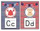 Nautical Theme Print Alphabet Mini Posters