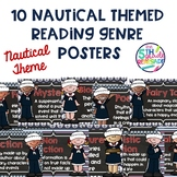 10 Nautical Themed Reading Genre Posters