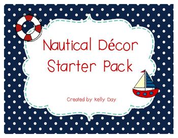 Nautical Themed Starter Pack