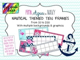 Nautical Themed Ten Frames