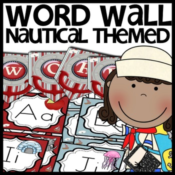 Nautical Themed Word Wall