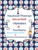 Nautical Themed Word Wall Alphabet and Number Cards With P