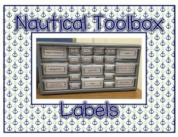 Nautical Toolbox Labels
