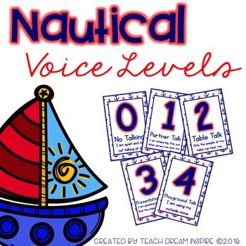 Nautical Voice Levels