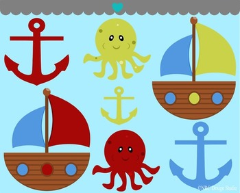 Nautical Voyage Clip Art