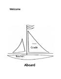 Nautical Welcome Cover Editable