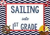 Nautical Welcome Poster