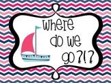 Nautical Where Do We Go/Where Are We?