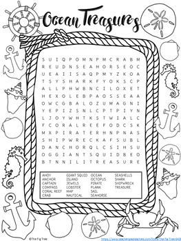 Nautical Word Search