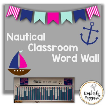 Nautical Word Wall