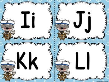 Nautical Word Wall & 200 Fry Words Editable