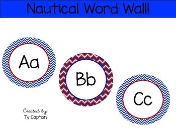 Nautical Word Wall