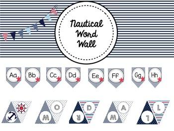 Nautical Word Wall Bundle