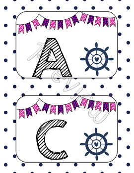 Nautical Word Wall {Confetti and Creativity Clip Art}