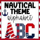 Nautical Word Wall Headers