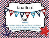 EDITABLE Nautical Word Wall Set