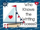 Nautical Writing Process posters