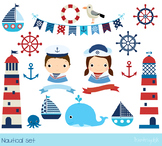 Nautical clipart, Sailboat clip art, Lighthouse clipart, S