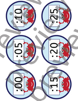 Nautical clock numbers, Telling time