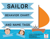 Nautical sailor behavior chart