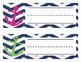 Nautical themed Nameplates! Navy, Pink and Green