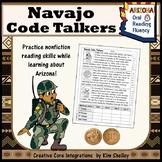 Navajo Code Talker Fluency