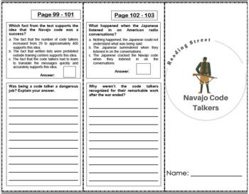 Navajo Code Talkers - 4th Grade Reading Street