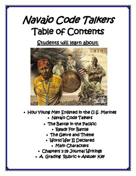 Navajo Code Talkers Book Report and Lapbook