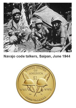 Navajo Code Talkers Dictionary Handout