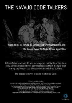 Navajo Code Talkers Mini Poster