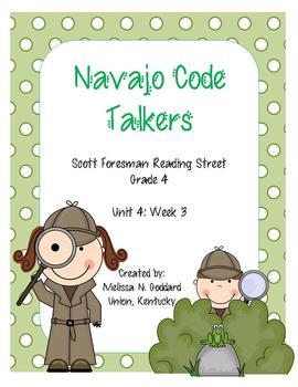 Navajo Code Talkers : Reading Street : Grade  4