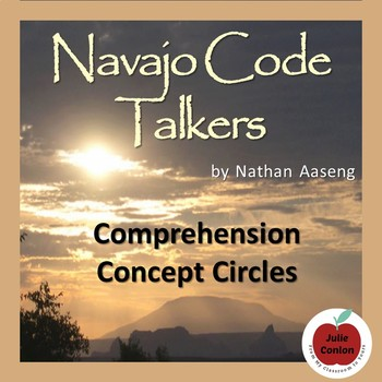 """""""Navajo Code Talkers"""" by Aaseng--Concept Circles Assessment"""