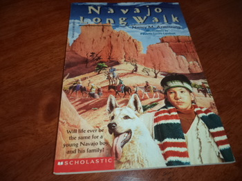 Navajo Long Walk  ISBN 0-590-99831-5