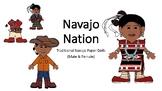 Navajo Nation Traditional Paper Dolls